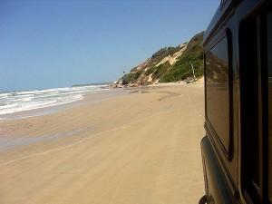 transfer pelas praias Fortaleza-Jericoacoara
