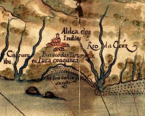 Jericoacoara já estava nos mapas deste 1629.