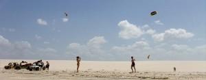aulas de kite surf no guriú